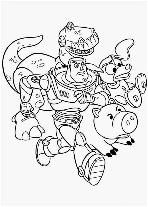 Coloring pages toy story