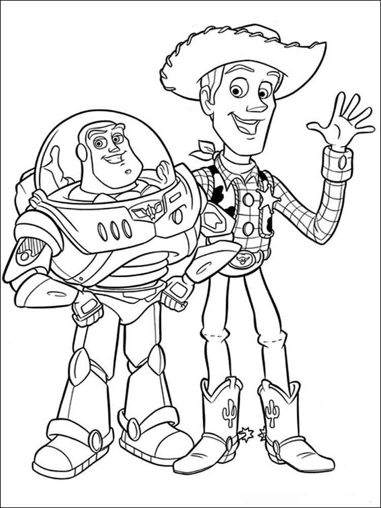 coloring pages toy story colouring pages woody toy story funsoke story toy coloring pages