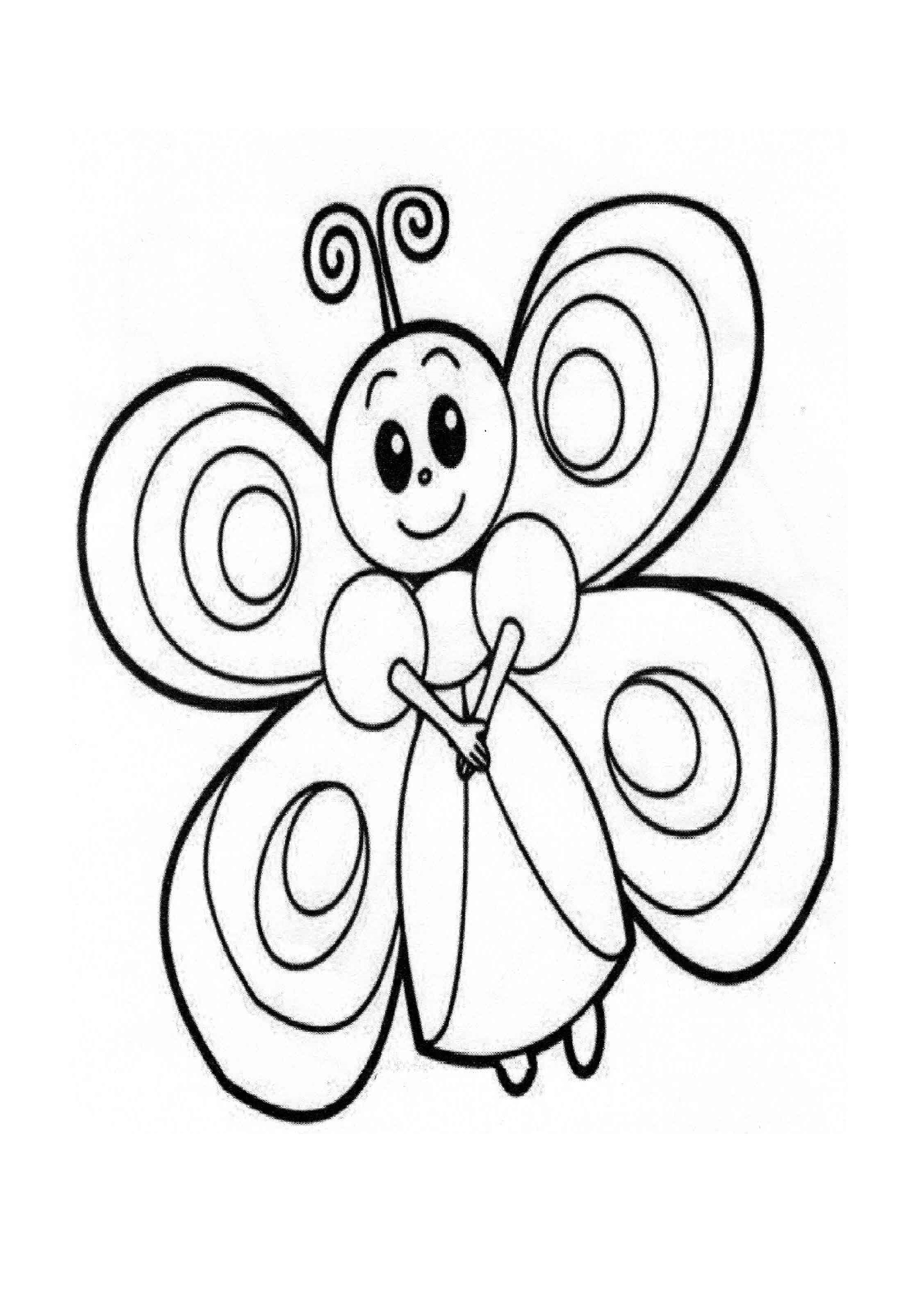 coloring pages with butterflies butterfly coloring page preschool and pages coloring with butterflies