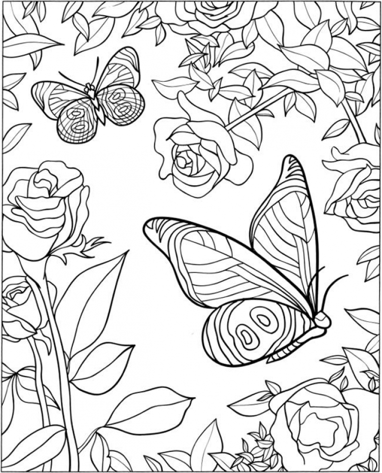 coloring pages with butterflies butterfly coloring pages for adults visual arts ideas coloring pages butterflies with