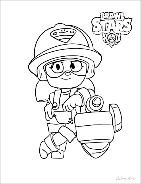 coloring pages with stars brawl stars coloring pages all characters printable free coloring stars pages with