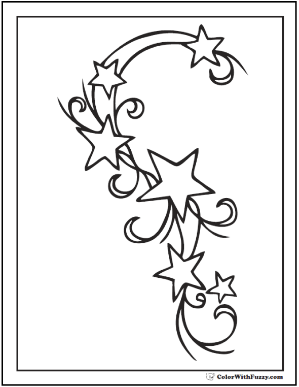 coloring pages with stars star color by number coloring page crayolacom stars pages coloring with