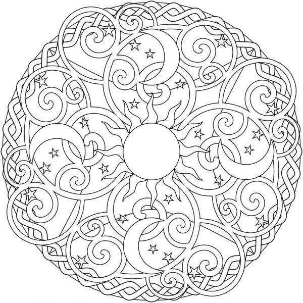 coloring pages with stars star mandala coloring pages at getcoloringscom free coloring pages stars with