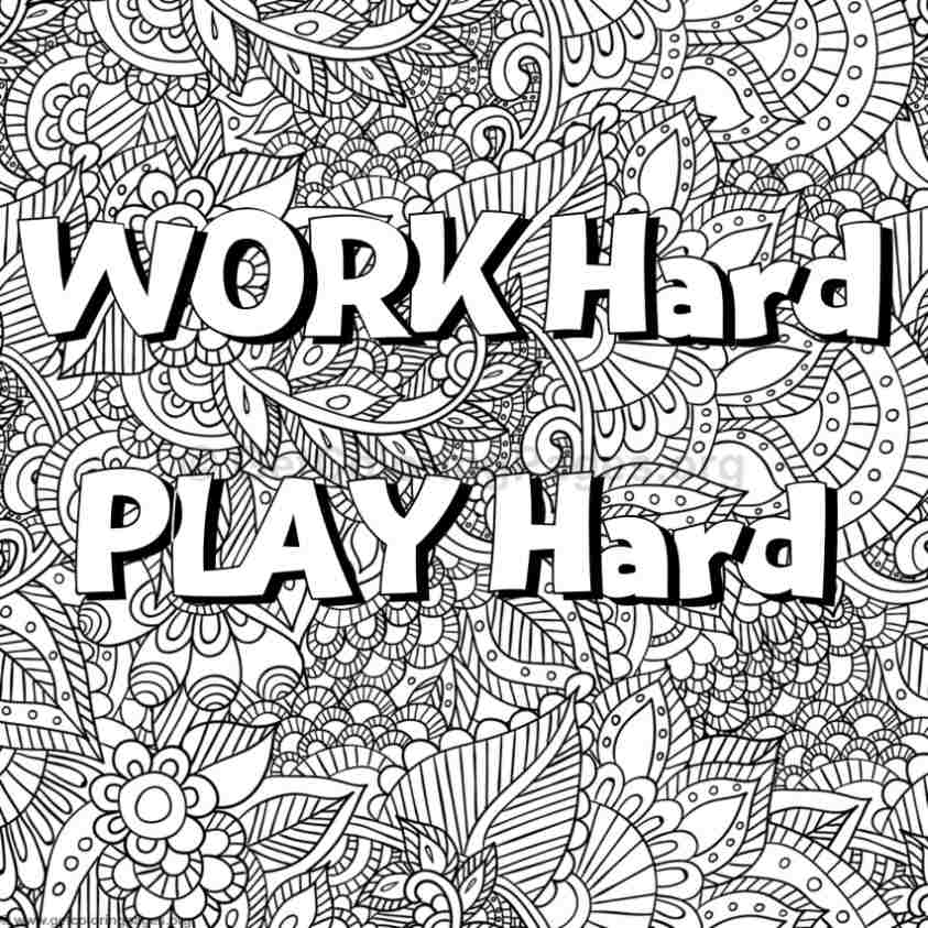 coloring pages with words positive word coloring page calm positive adult coloring words coloring pages with