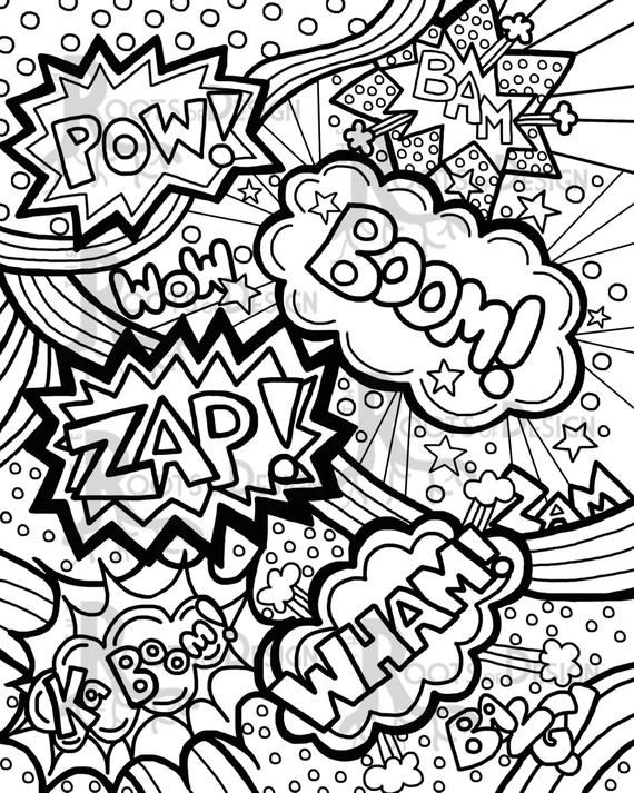 coloring pages with words word coloring pages doodle art alley coloring pages with words