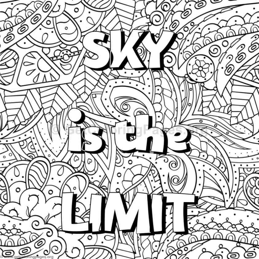 coloring pages with words word coloring pages doodle art alley pages words with coloring