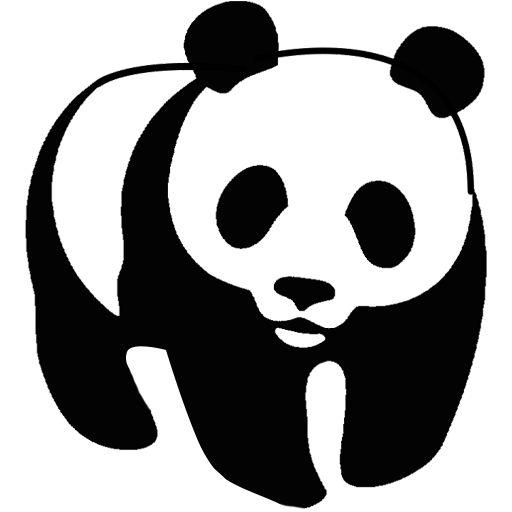 coloring panda clipart black and white best cute panda clipart 67 clipartioncom and panda black white clipart coloring
