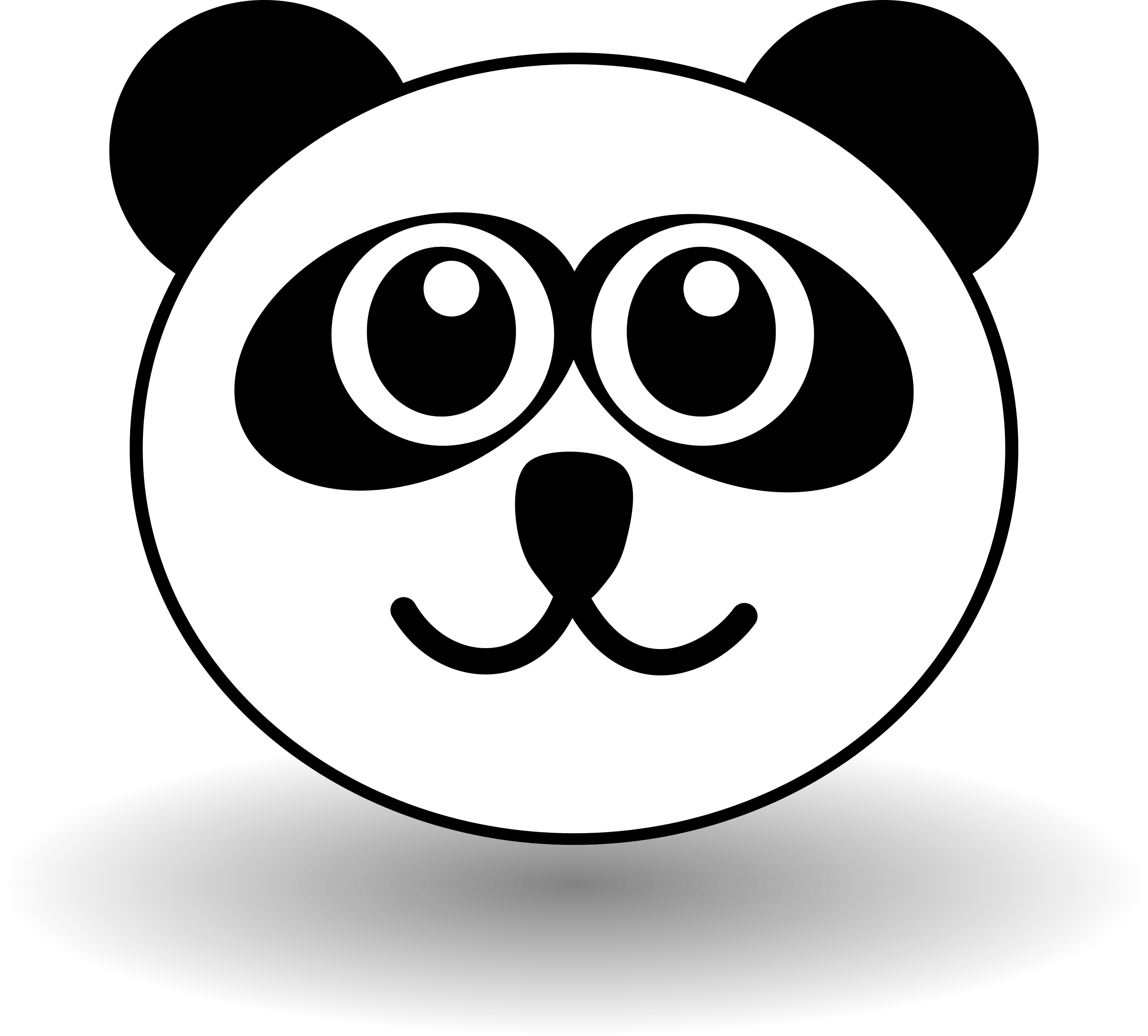coloring panda clipart black and white clipart funny panda face black and white white coloring panda and black clipart