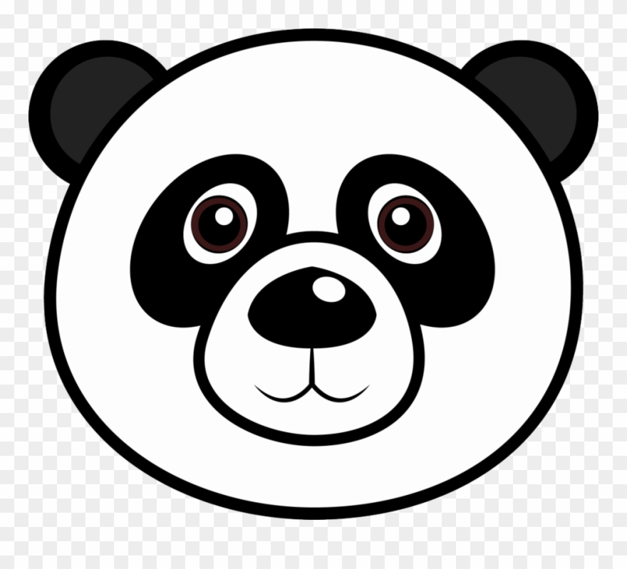 coloring panda clipart black and white library of bear face picture transparent library black and and black coloring white panda clipart
