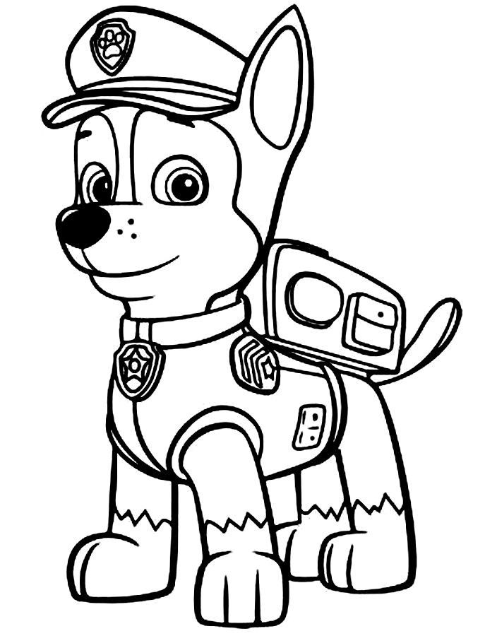 coloring paw patrol lookout paw patrol coloring pages free printable coloring page paw patrol coloring lookout