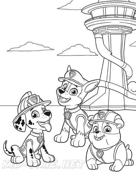 coloring paw patrol lookout paw patrol lookout tower coloring page 2019 open lookout coloring paw patrol