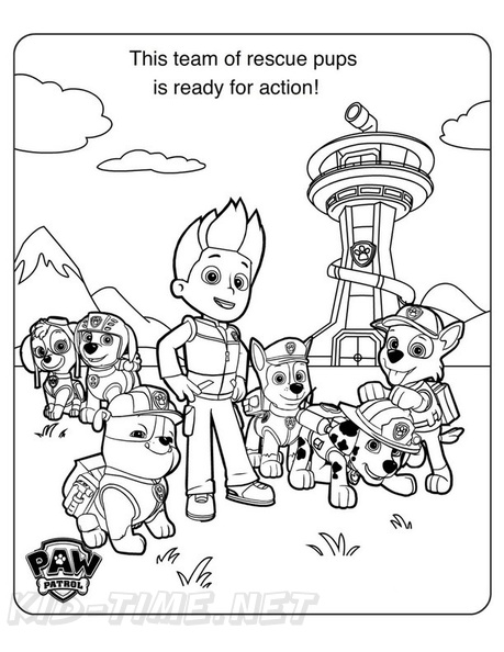 coloring paw patrol lookout paw patrol lookout tower coloring page coloring pages lookout paw patrol coloring