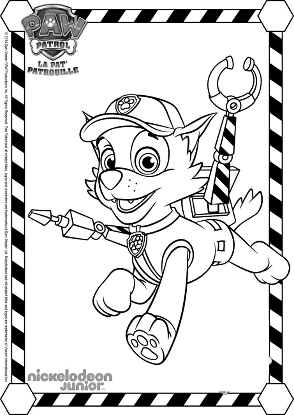 coloring paw patrol lookout pin on paw coloring page patrol lookout coloring paw
