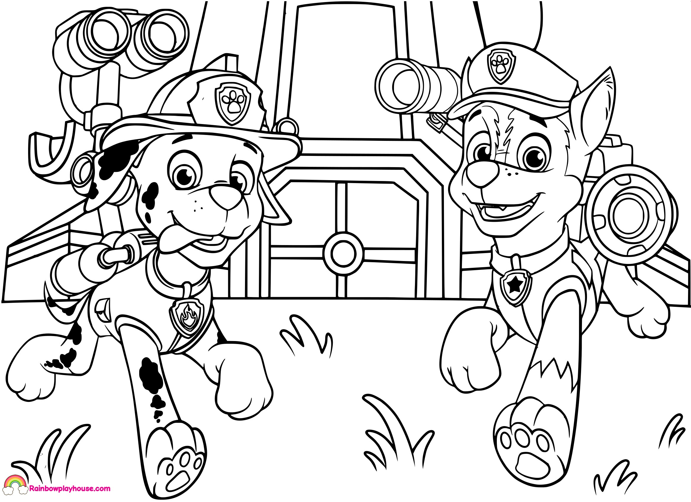 coloring paw patrol printouts paw patrol characters coloring pages at getcoloringscom patrol paw coloring printouts