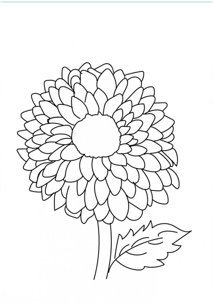 coloring pic of flower pretty flower for pretty flower bouquet coloring page coloring of flower pic