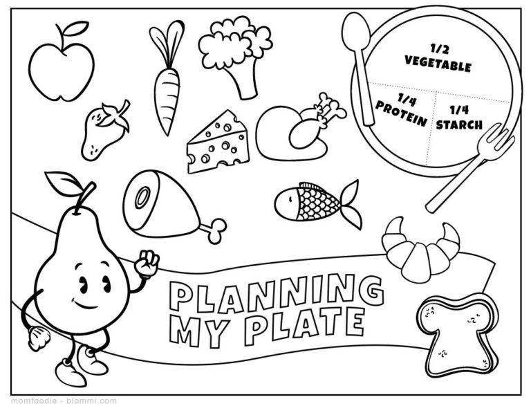 coloring picture for nutrition month 9 free printable nutrition coloring pages for kids in 2020 coloring for month picture nutrition