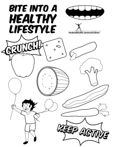 coloring picture for nutrition month pin on ใบงาน picture month coloring nutrition for