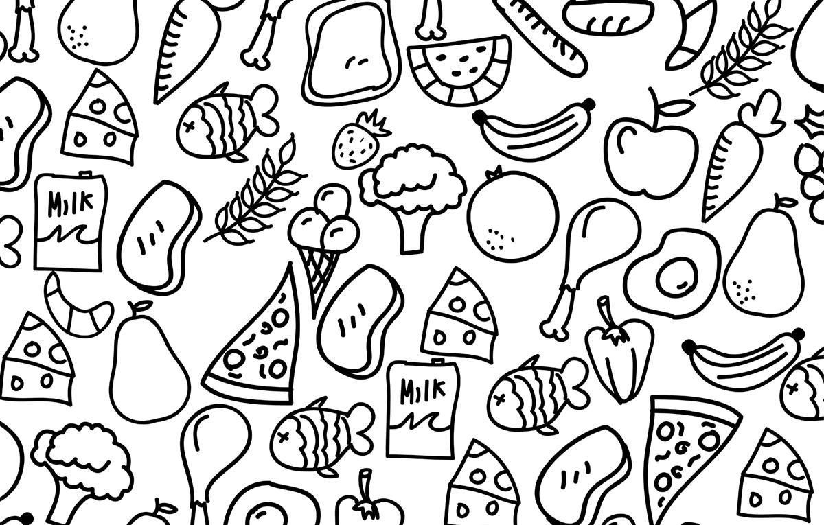 coloring picture for nutrition month printable food groupsnutrition booklet group meals coloring month for nutrition picture