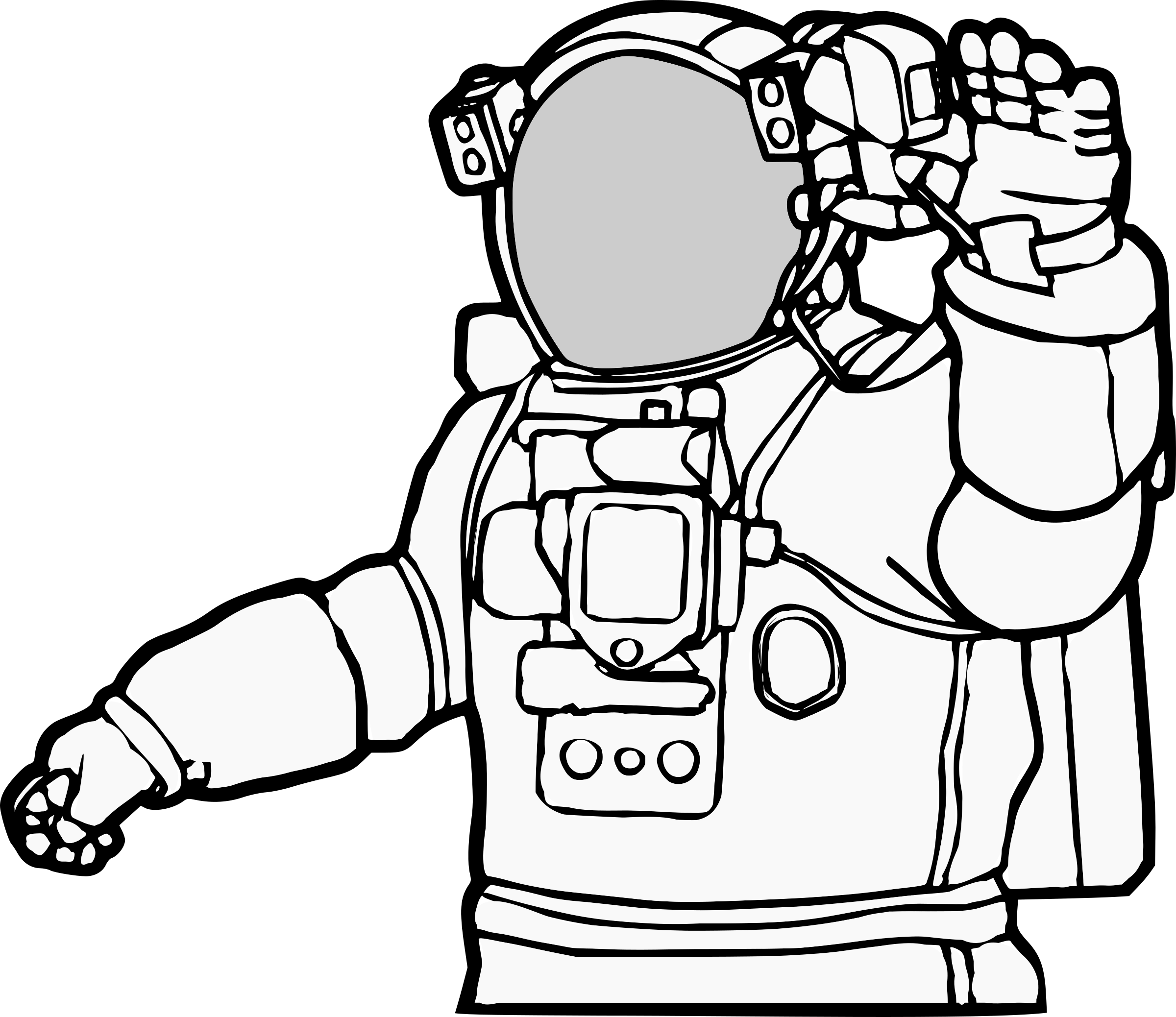 coloring picture of astronaut astronaut nasa coloring page wecoloringpagecom astronaut coloring of picture