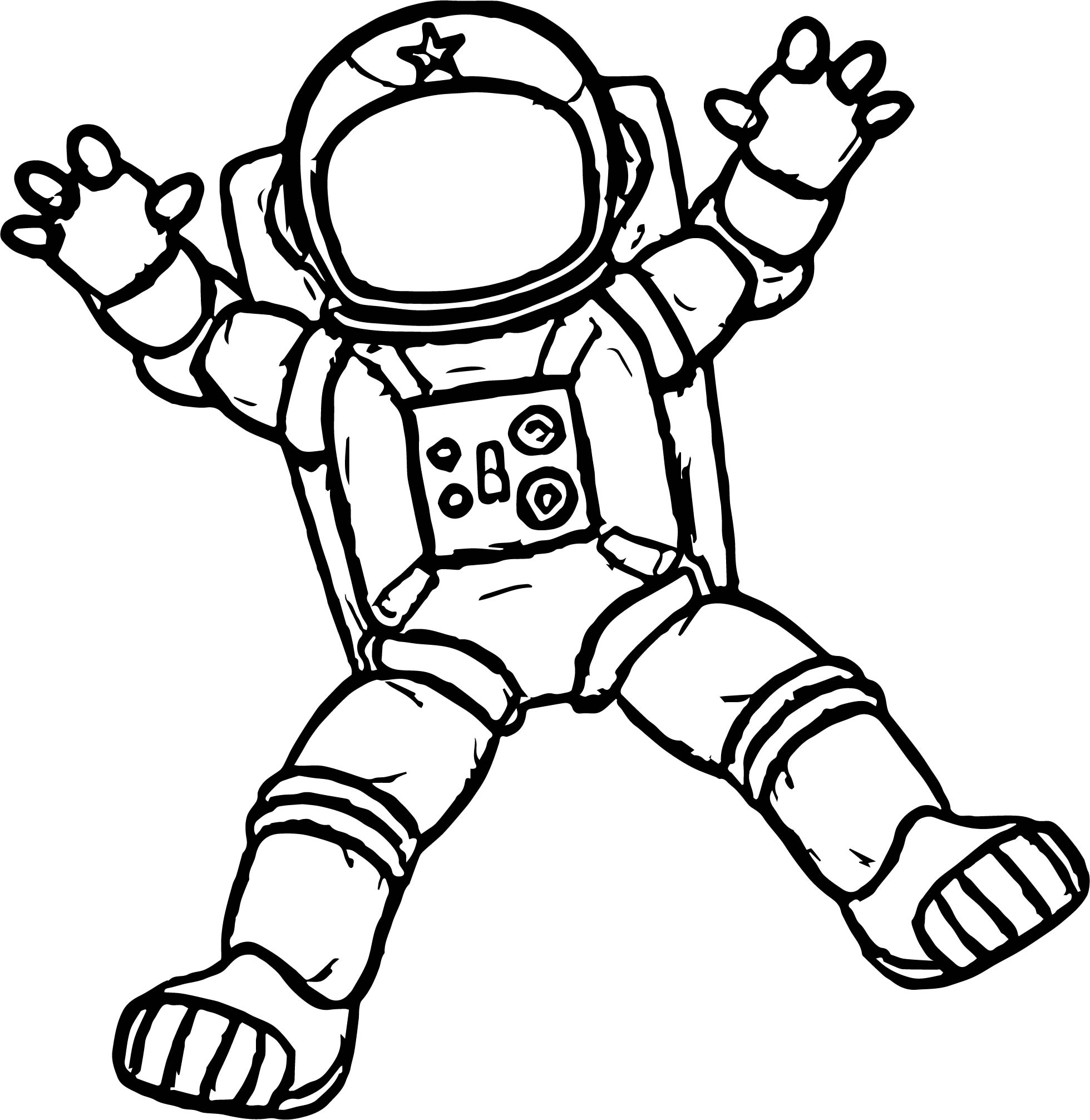 coloring picture of astronaut astronaut outer space coloring page coloring home astronaut picture of coloring
