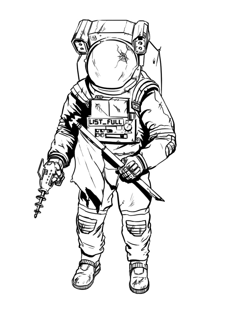 coloring picture of astronaut coloring picture of astronaut of coloring picture astronaut