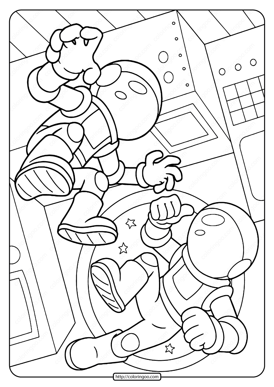 coloring picture of astronaut free printable astronaut coloring pages for kids astronaut of coloring picture