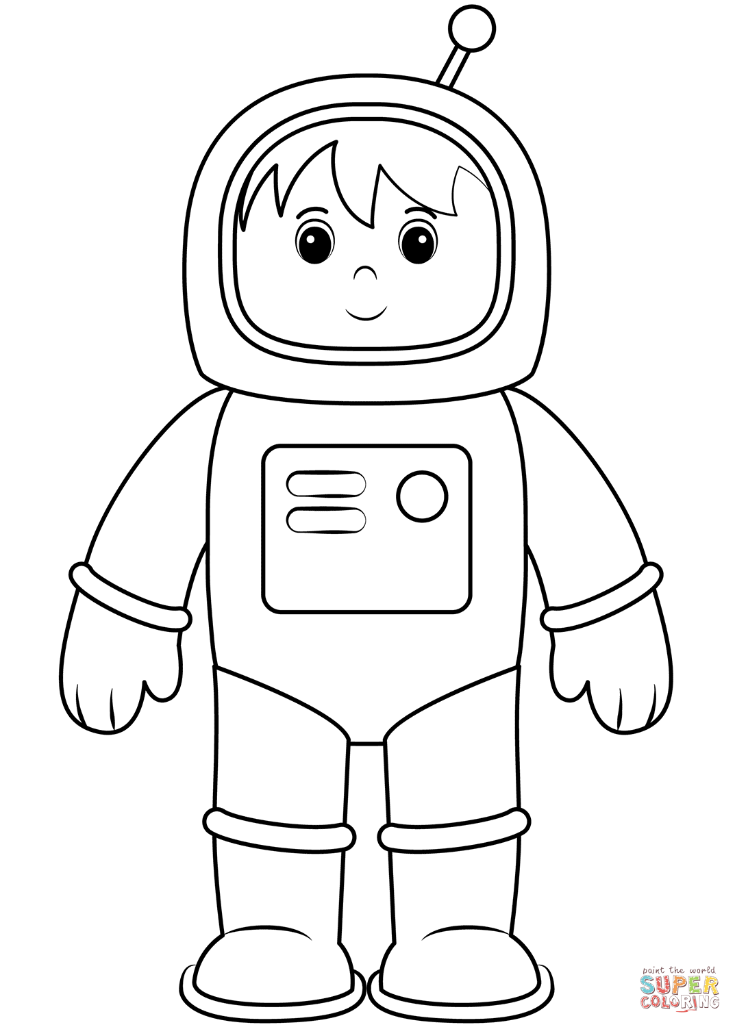 coloring picture of astronaut printable astronaut coloring pages for kids coloring astronaut picture of