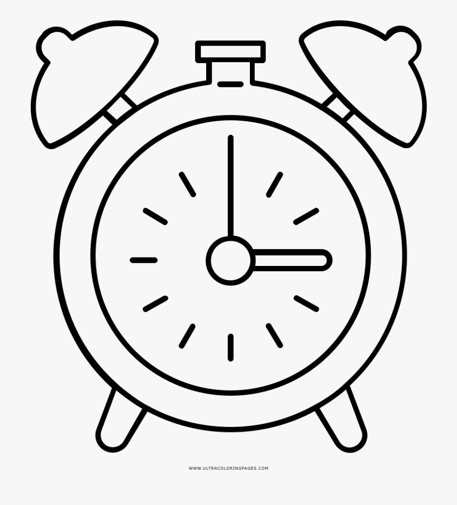 coloring picture of clock alarm clock coloring page transparent cartoon free clock of coloring picture