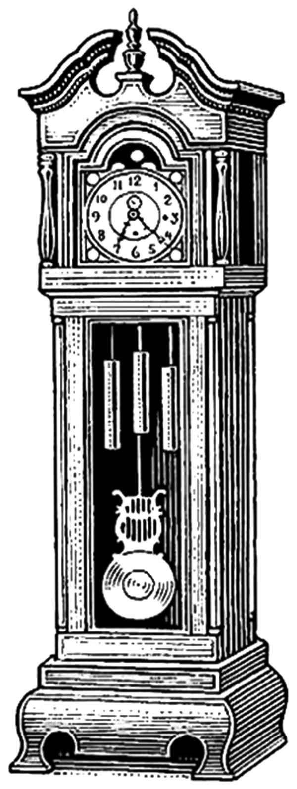 coloring picture of clock clock face coloring page getcoloringpagescom of clock coloring picture