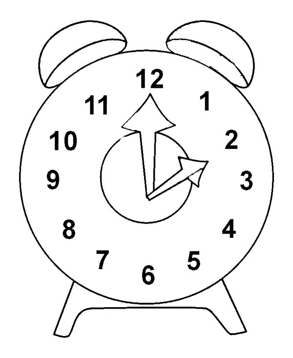 coloring picture of clock clock outline coloring pages best place to color picture clock coloring of