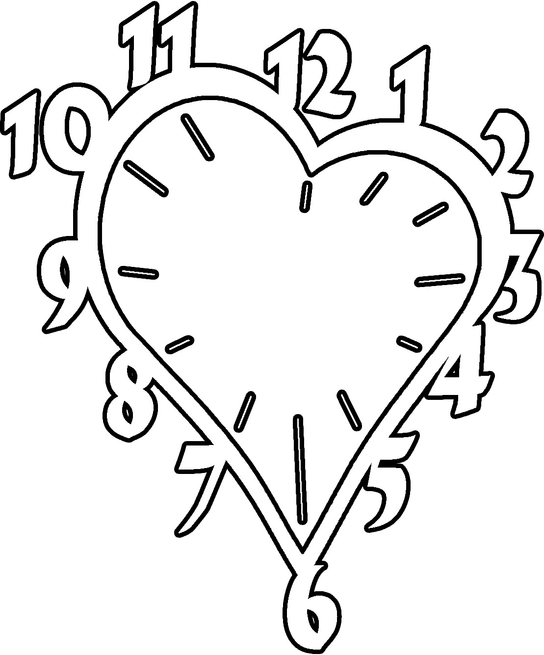 coloring picture of clock free printable clock coloring pages for kids coloring picture clock of