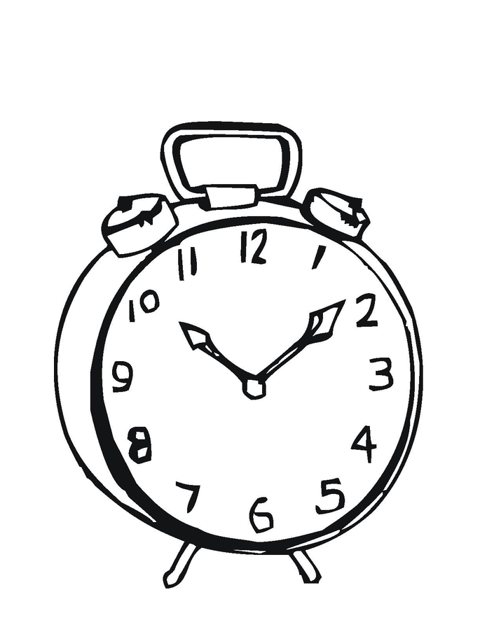 coloring picture of clock printable clock coloring pages for kids coloring clock picture of