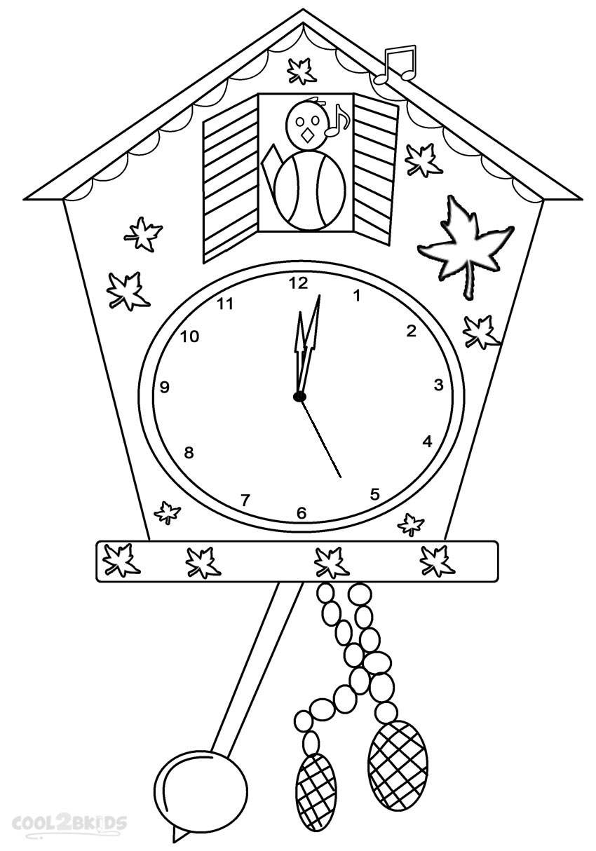 coloring picture of clock printable clock coloring pages for kids cool2bkids coloring clock picture of