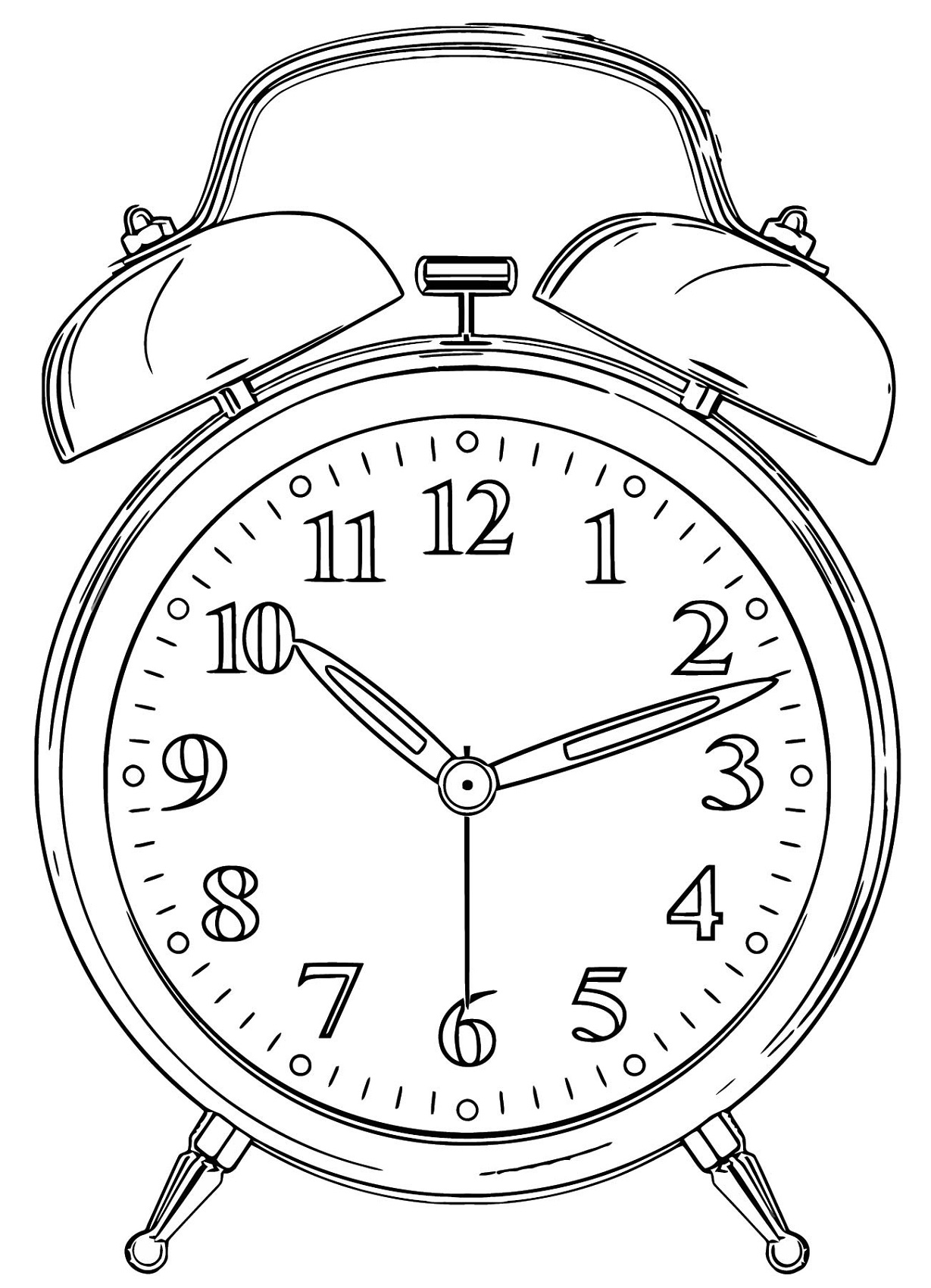 coloring picture of clock printable clock templates 101 activity of coloring picture clock