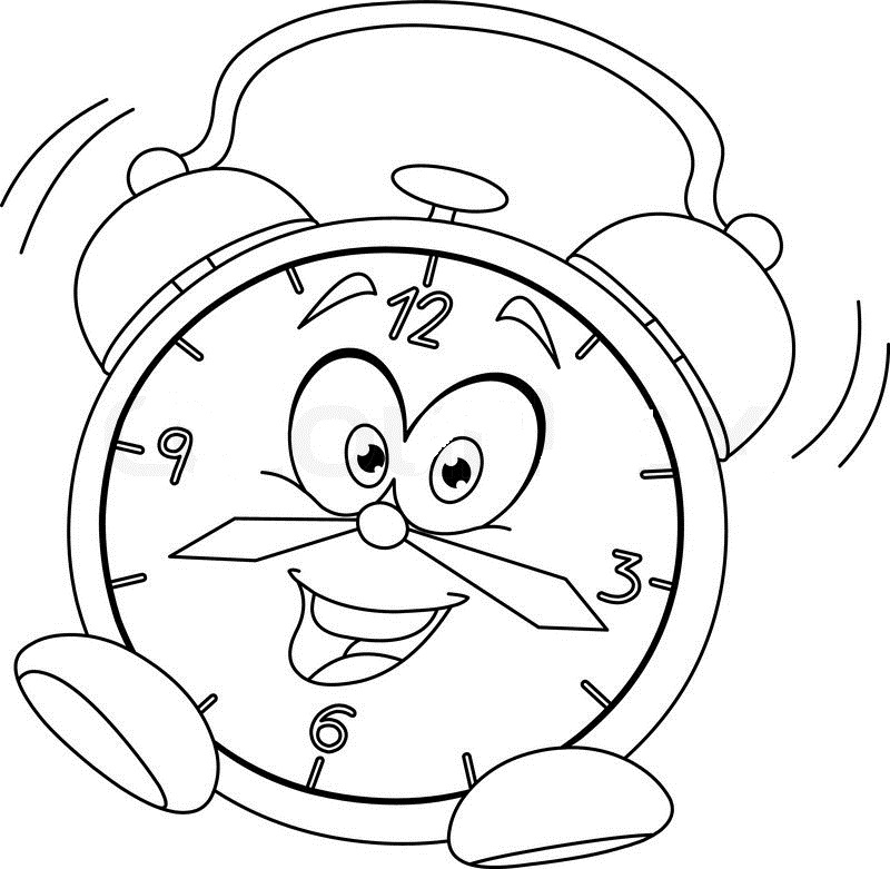 coloring picture of clock steampunk wall clock coloring page free coloring pages clock of picture coloring