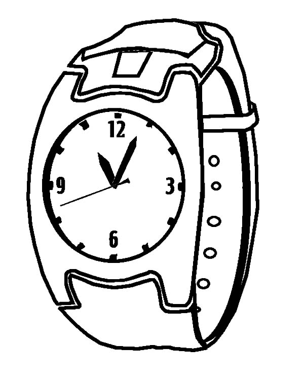 coloring picture of clock watch clock coloring pages best place to color clock of coloring picture