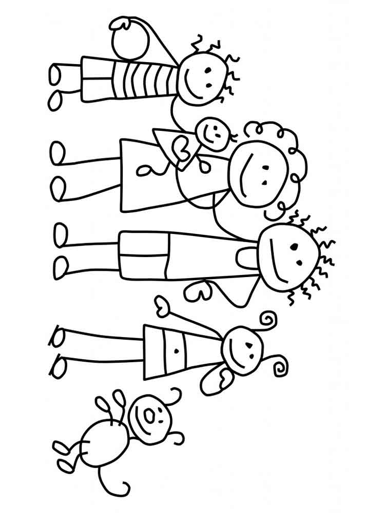 coloring picture of family family coloring pages getcoloringpagescom family coloring of picture