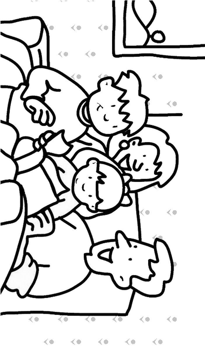 coloring picture of family family coloring pages of picture family coloring
