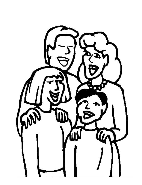coloring picture of family family gathering coloring page coloring sky family of coloring picture