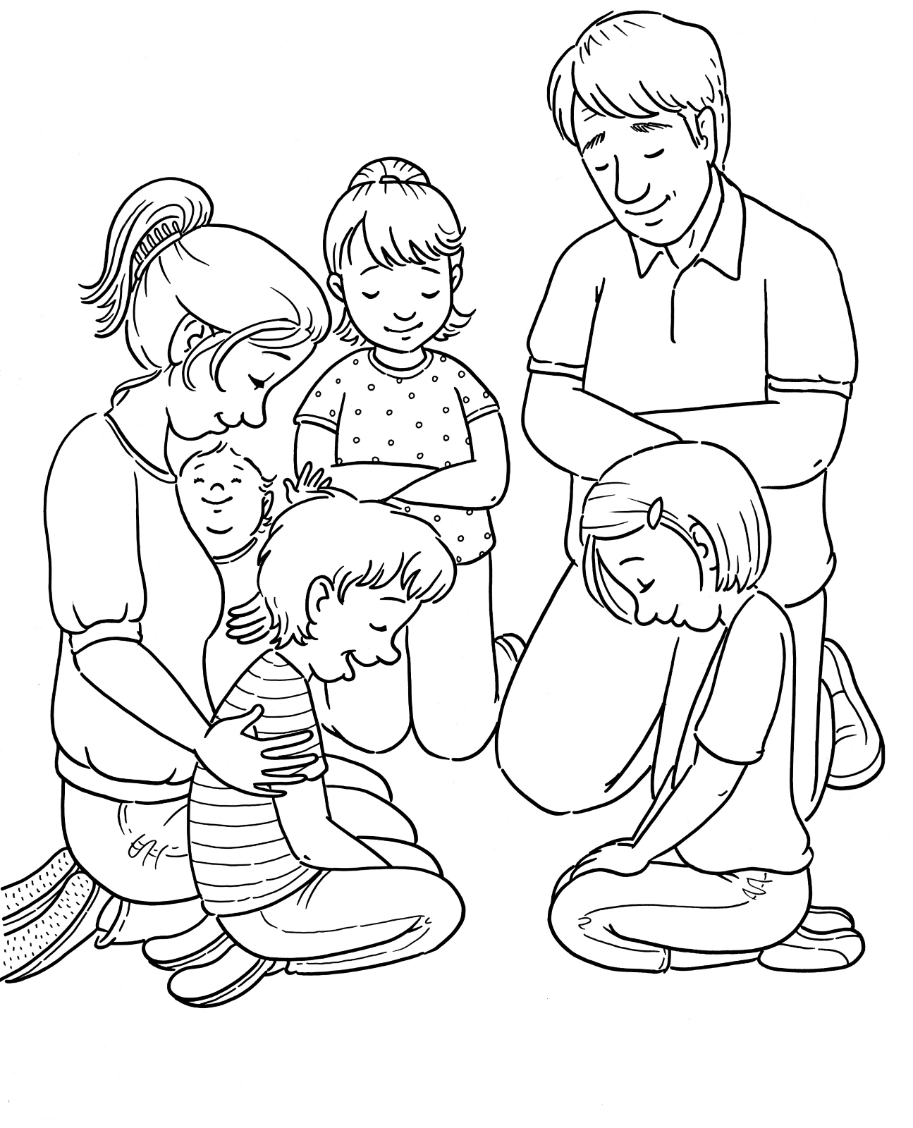 coloring picture of family family members drawing at getdrawings free download family of coloring picture