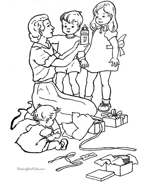 coloring picture of family family of coloring family picture