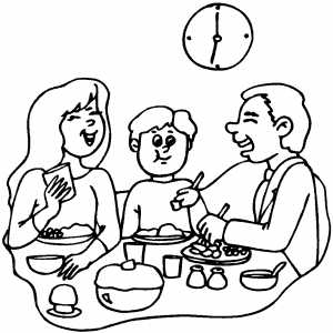coloring picture of family one happy family coloring page coloring sky of picture coloring family