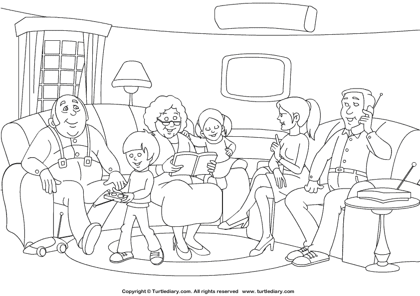 coloring picture of family ramadan colouring pages in the playroom coloring of picture family