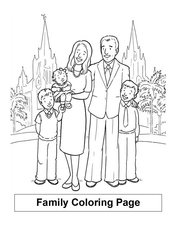 coloring picture of family wwwpreschoolcoloringbookcom family coloring page family picture coloring of