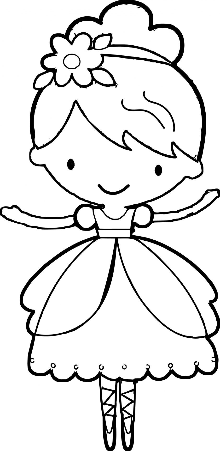 coloring picture of girl girl dancing coloring pages at getcoloringscom free coloring girl picture of
