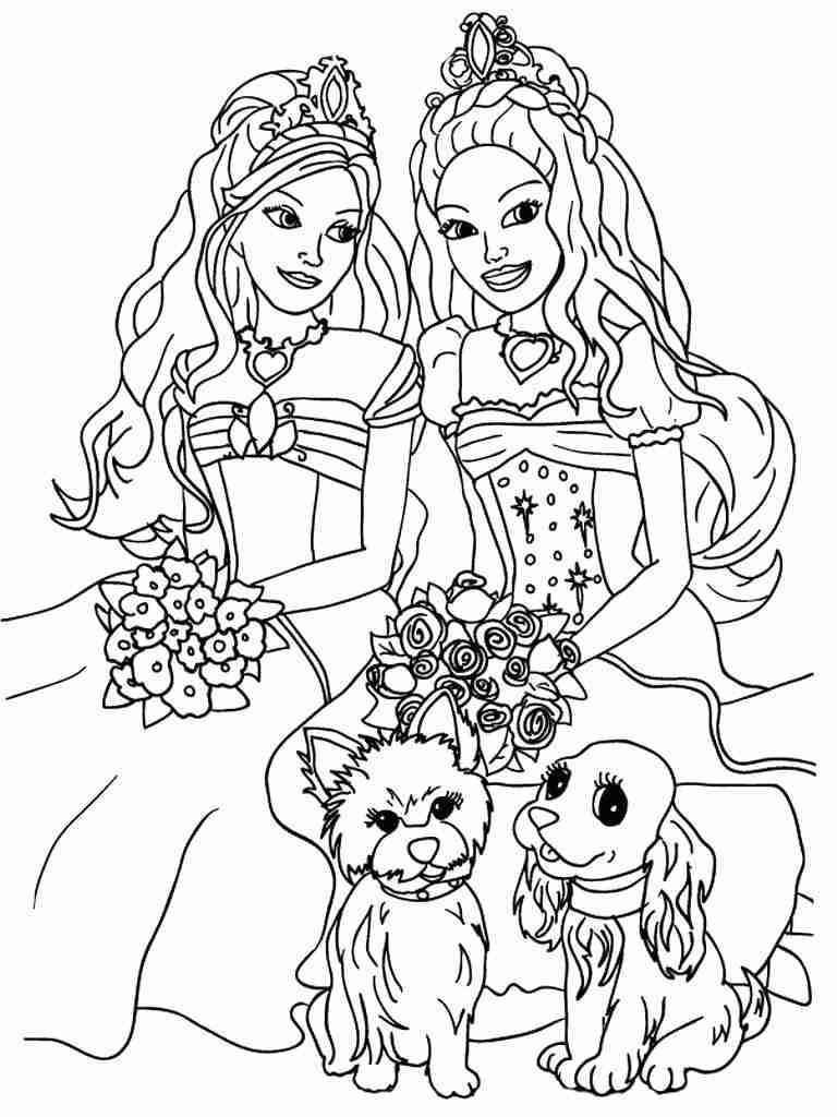 coloring picture of girl little girl coloring page of coloring picture girl