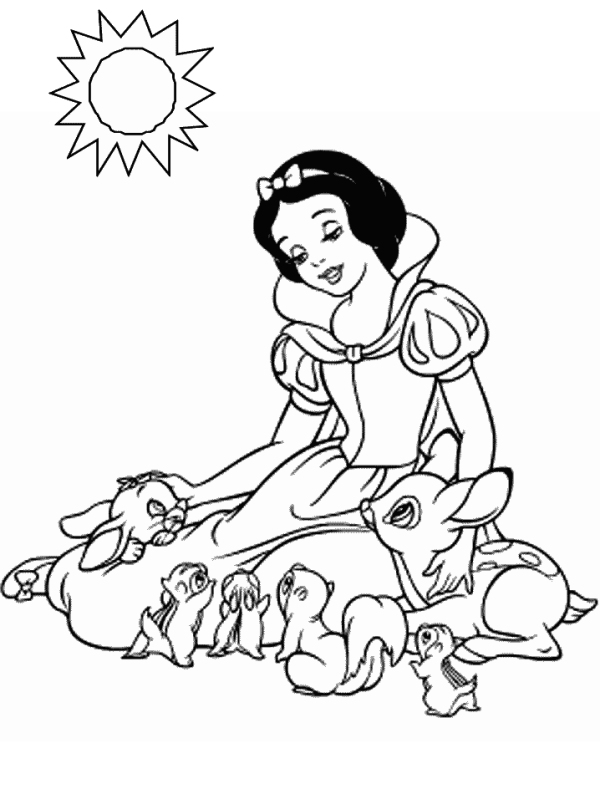 coloring picture of snow white colour me beautiful 3 snow white color pages coloring white of picture snow
