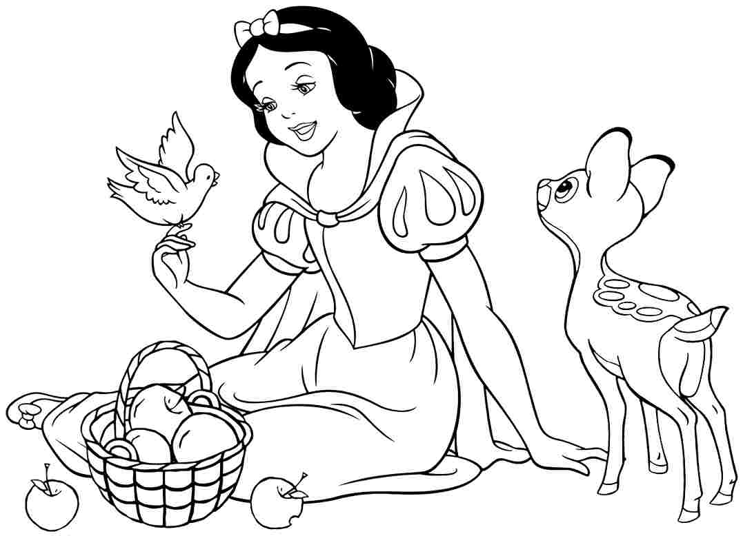 coloring picture of snow white free printable snow white coloring pages for kids white of snow coloring picture