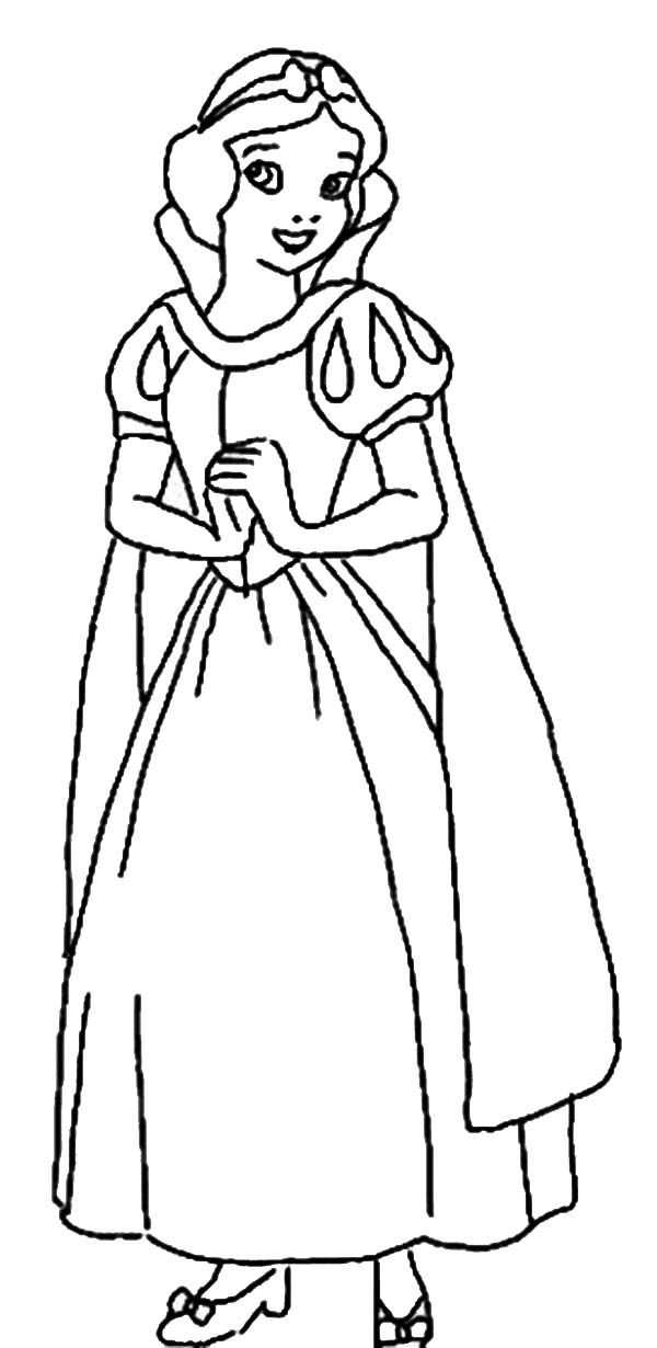 coloring picture of snow white snow white and the seven dwarfs free colouring pages snow white coloring picture of