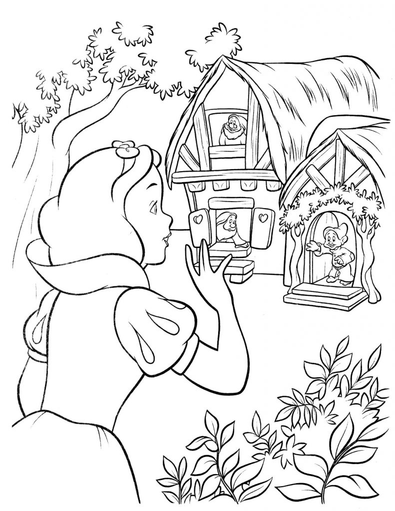 coloring picture of snow white snow white coloring pages best coloring pages for kids coloring picture white of snow
